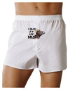 Come At Me Bro Big Horn Front Print Boxer Shorts
