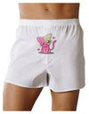 Kawaii Kitty Front Print Boxer Shorts