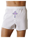 Easter Color Cross Front Print Boxer Shorts