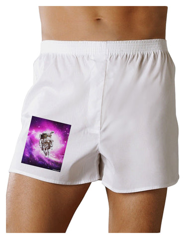 Astronaut Cat Boxer Shorts