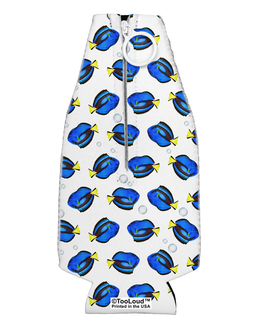 Blue Tang Fish AOP Collapsible Neoprene Bottle Insulator All Over Print