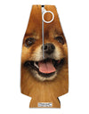 Adorable Red Pomeranian Collapsible Neoprene Bottle Insulator All Over Print