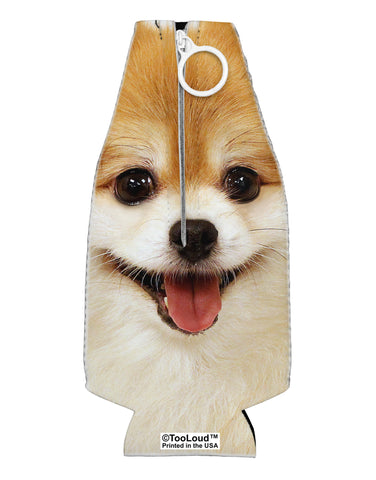 Adorable Pomeranian 1 Collapsible Neoprene Bottle Insulator All Over Print