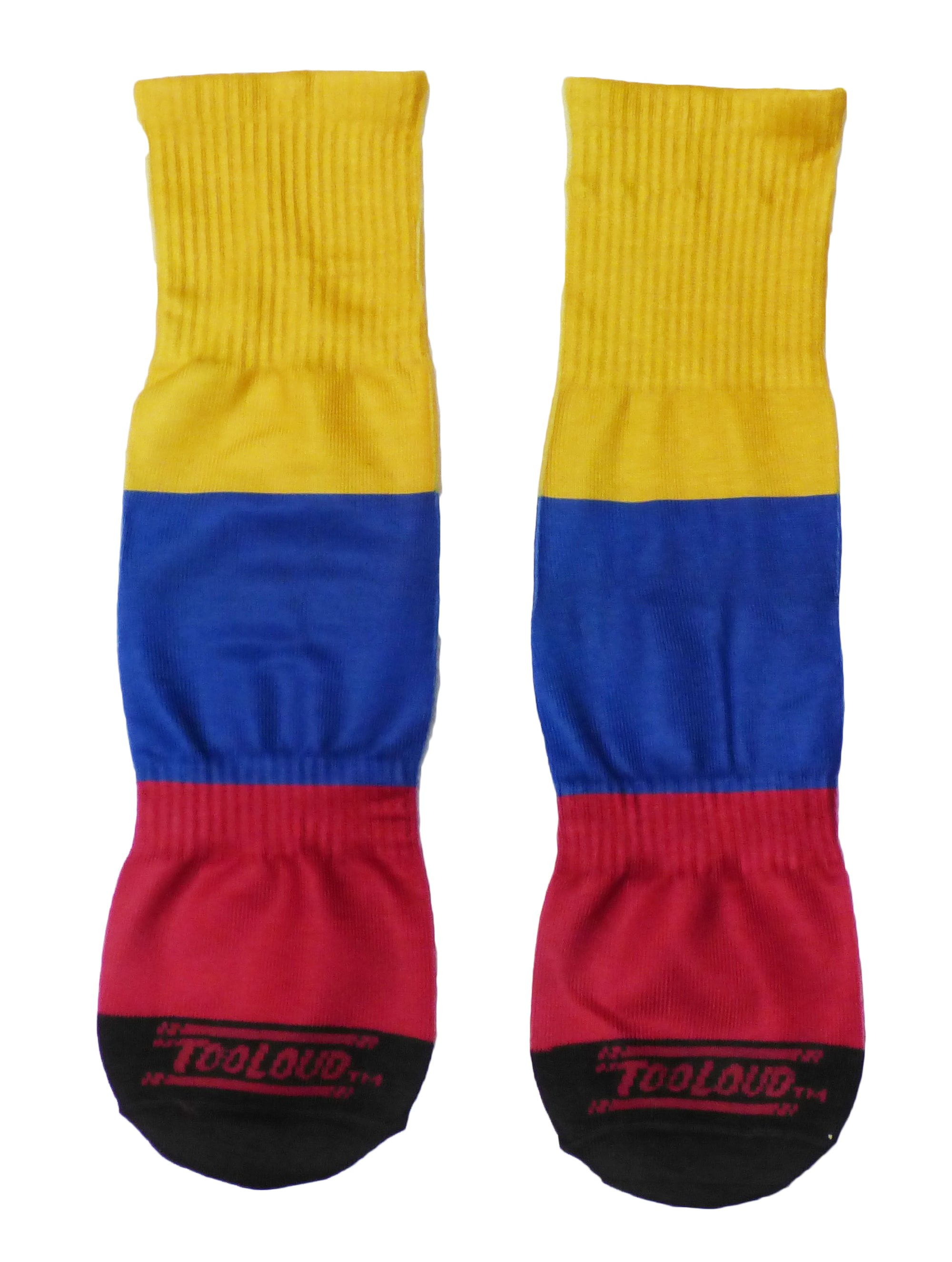 Adult Colombia American USA Flag Pride Athletic Crew Socks