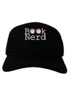 Book Nerd Adult Dark Baseball Cap Hat
