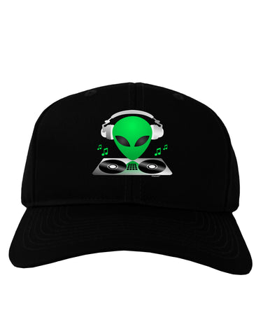 Alien DJ Adult Dark Baseball Cap Hat