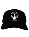 Space Force Funny Anti Trump Adult Dark Baseball Cap Hat by TooLoud
