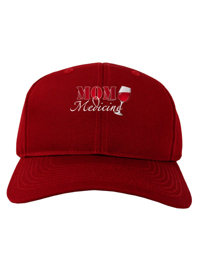 Mom Medicine Adult Dark Baseball Cap Hat