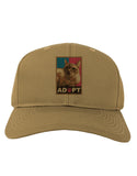 Adopt Cute Kitty Poster Adult Baseball Cap Hat