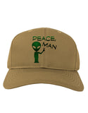 Peace Man Alien Adult Baseball Cap Hat