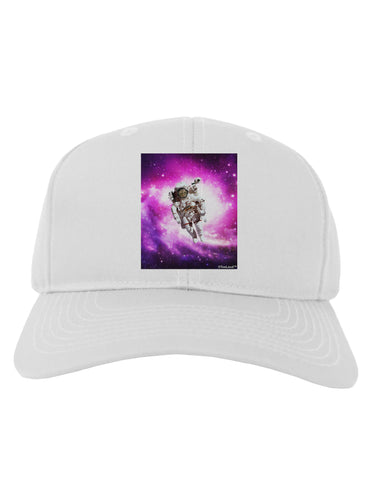 Astronaut Cat Adult Baseball Cap Hat