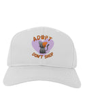 Adopt Don't Shop Cute Kitty Adult Baseball Cap Hat