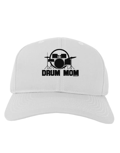 Drum Mom - Mother's Day Design Adult Baseball Cap Hat
