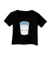 Cute Matching Milk and Cookie Design - Milk Infant T-Shirt Dark by TooLoud