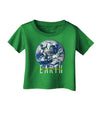 Planet Earth Text Infant T-Shirt Dark
