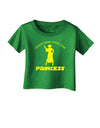 Don't Mess With The Princess Infant T-Shirt Dark