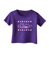 Cute As A Button Infant T-Shirt Dark