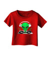 Alien DJ Infant T-Shirt Dark