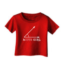 Acute Girl Infant T-Shirt Dark