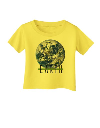 Planet Earth Text Infant T-Shirt
