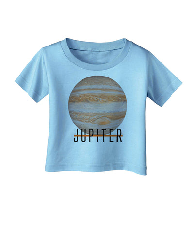 Planet Jupiter Earth Text Infant T-Shirt