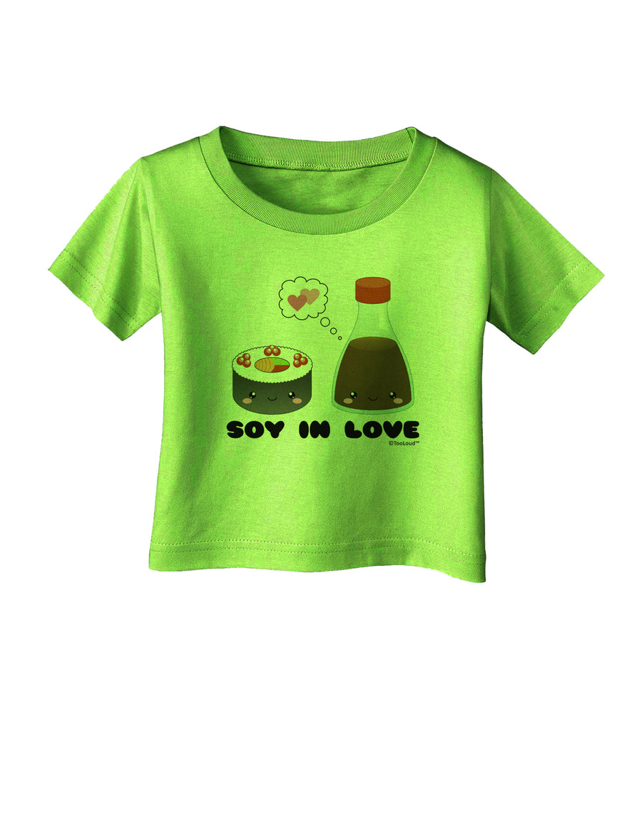 Cute Sushi and Soy Sauce - Soy In Love Infant T-Shirt by TooLoud