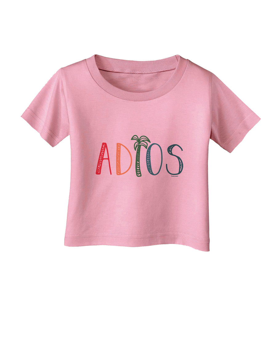 Adios Infant T-Shirt White 18Months Tooloud