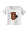 Cute Beaver Infant T-Shirt