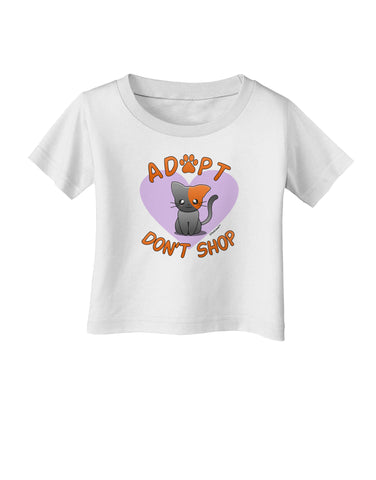 Adopt Don't Shop Cute Kitty Infant T-Shirt