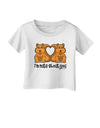 Cute Squirrels - I'm Nuts About You Infant T-Shirt by TooLoud