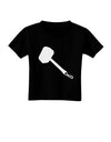 Thors Hammer Nordic Runes Lucky Odin Mjolnir Valhalla  Toddler T-Shirt Dark by TooLoud