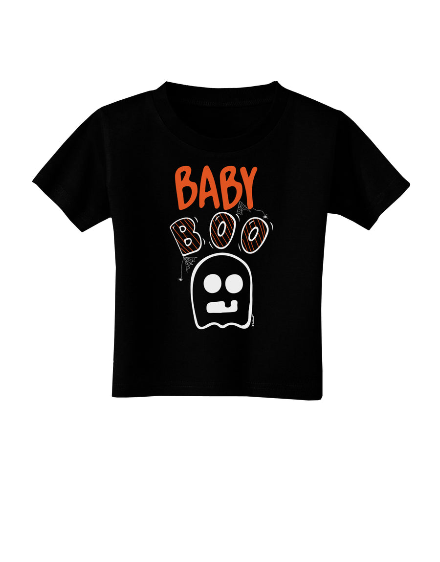 Baby Boo Ghostie Toddler T-Shirt White 4T Tooloud
