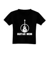 Guitar Mom - Mother's Day Design Toddler T-Shirt Dark