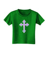 Easter Color Cross Toddler T-Shirt Dark