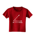 Acute Girl Toddler T-Shirt Dark