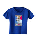 Adopt Cute Puppy Poster Toddler T-Shirt Dark