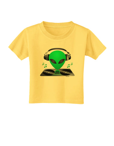 Alien DJ Toddler T-Shirt