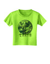 Planet Earth Text Toddler T-Shirt