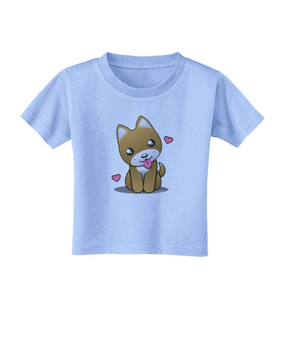 Kawaii Puppy Toddler T-Shirt