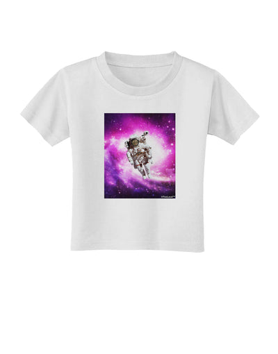 Astronaut Cat Toddler T-Shirt