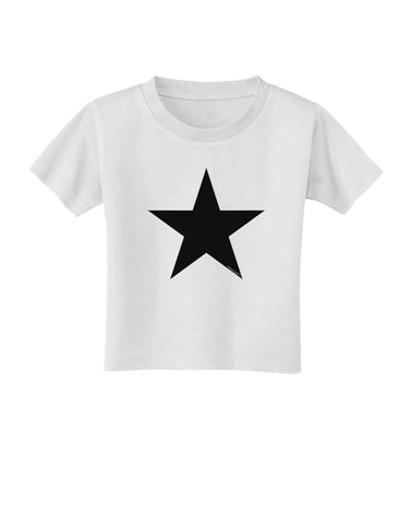 Black Star Toddler T-Shirt