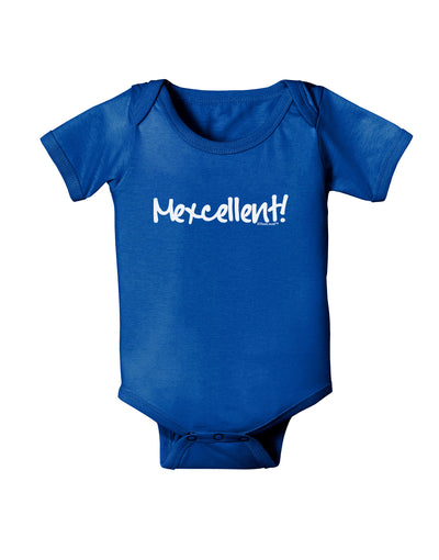 Mexico Text - Cinco De Mayo Baby Bodysuit Dark