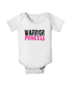 Warrior Princess Pink Baby Romper Bodysuit