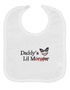 Daddys Lil Monster Baby Bib