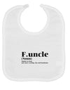 Funcle - Fun Uncle Baby Bib by TooLoud