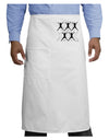Ten Lords A Leaping Text Adult Bistro Apron
