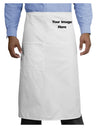 Your Own Image Customized Picture Adult Bistro Apron