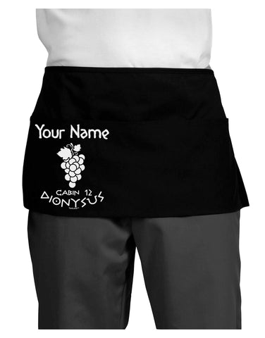 Personalized Cabin 12 Dionysus Dark Adult Mini Waist Apron by