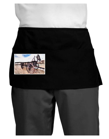 Antique Vehicle Dark Adult Mini Waist Apron