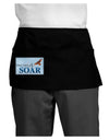 Don't Just Fly SOAR Dark Adult Mini Waist Apron, Server Apron